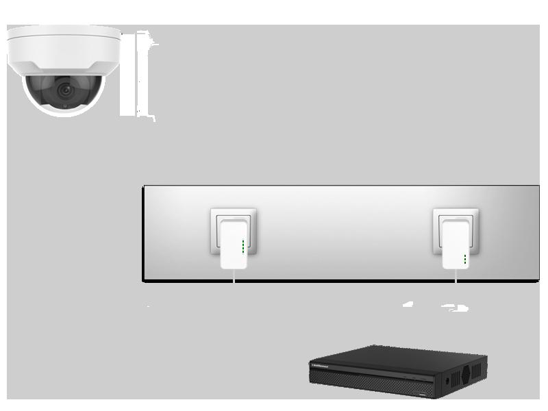 AVtech beveilingscamera set draadloos