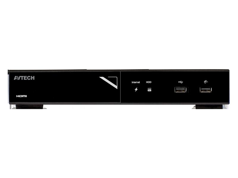 AVtech 4-kanaals NVR AVH1104